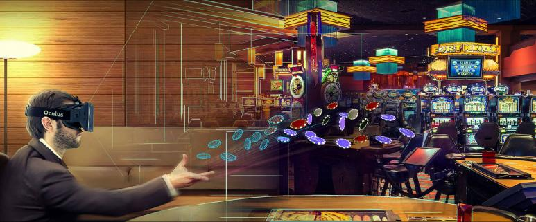 online casino games and VR